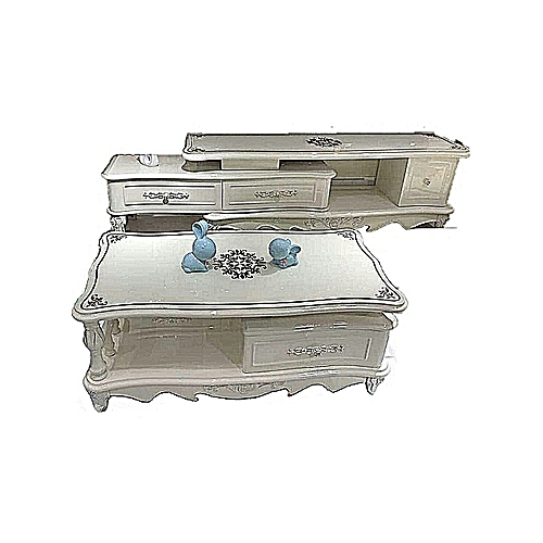 Center Table With TV Shelve (Lagos, Ogun Delivery)