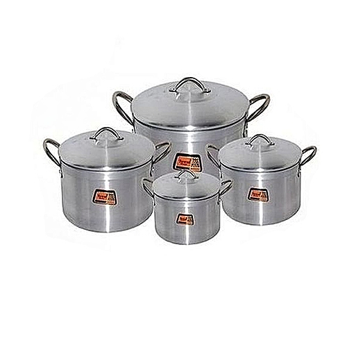 Tower Pot Set - 4 Piece (tower Trim)16,18,20,22cm