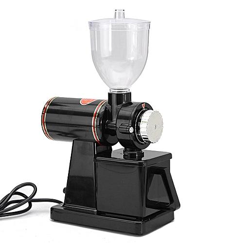 220V 100W Electric Auto Burr Mill Espresso Coffee Bean Grinder Maker Black