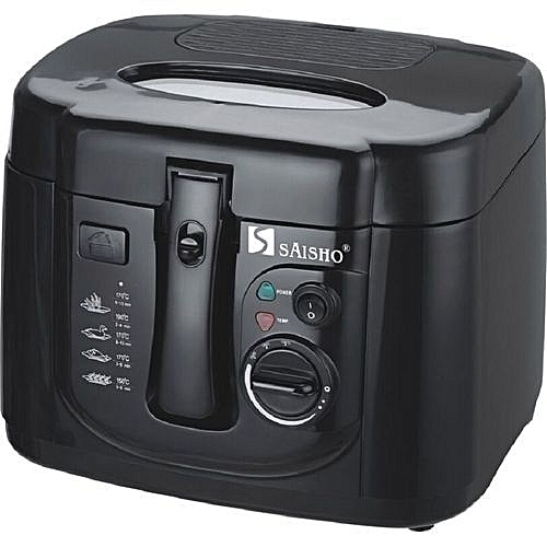 Deep Fryer S-616 - Black And White