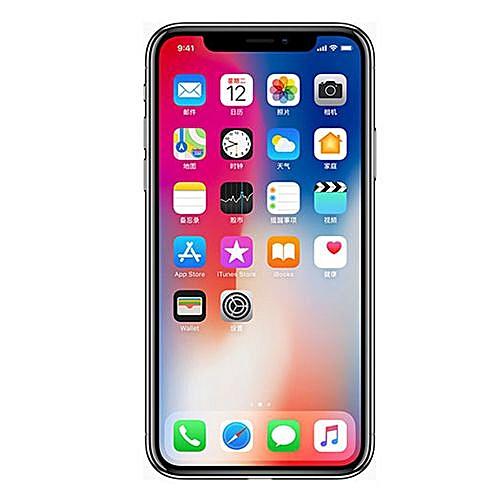 IPhone X 5.8-Inches Super AMOLED (3GB RAM, 256GB ROM)IOS 11(12MP+12MP)+7MP 4G LTE Smartphone-Grey
