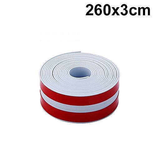 Duanxiyv- Self Adhesive Sink Waterproof Tape Kitchen Bathroom Shower Toilet Sealant White