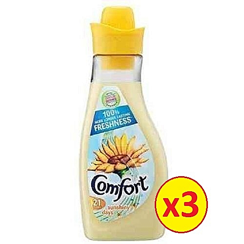 Sunshiny Days Fabric Conditioner 42 Wash 1.5L Pack Of 3
