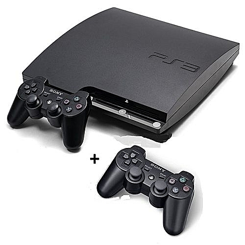 PS3 Slim Console 500GB Plus 2 Controllers & 20 Latest Games Includes FIFA 19 & PES 2018 Downloaded Inside