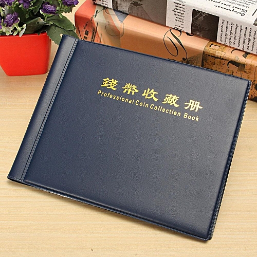2PCS 240 Collection Storage Penny Pockets Money Album Book Collecting Coin Holders