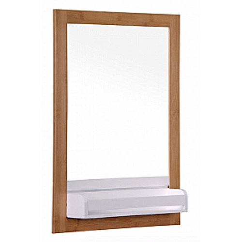 Bambus Mirror With Shelf