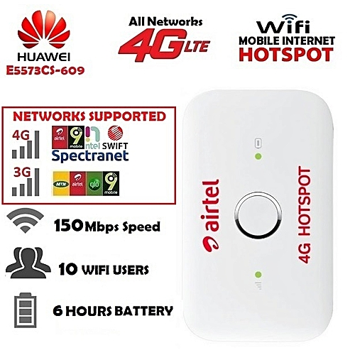 Universal 3G/4G LTE Wireless MiFi Internet Router For All Networks