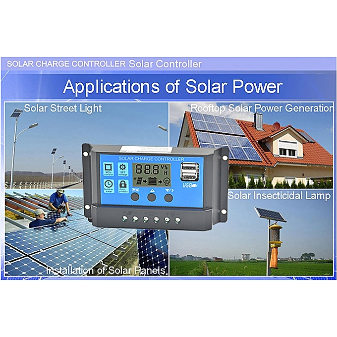 Anderson Plugs Us Home & Garden Alternative & Solar Energy Nice Solar Panel Regulator Charge Controller Usb 10a 12v-24v