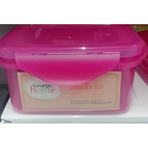 Plastic Lunch Box Or Food Storage Container (UK)
