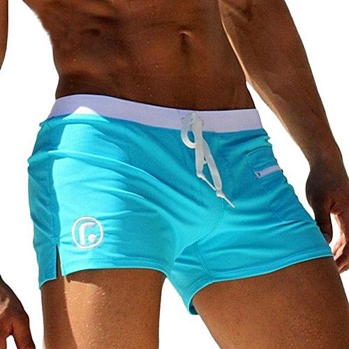 6efd14c9c1 Generic Sexy Men Swimwear AQUX Men's Swimsuits Surf Board Beach Wear Man  Swimming Trunks Boxer Shorts Swim S
