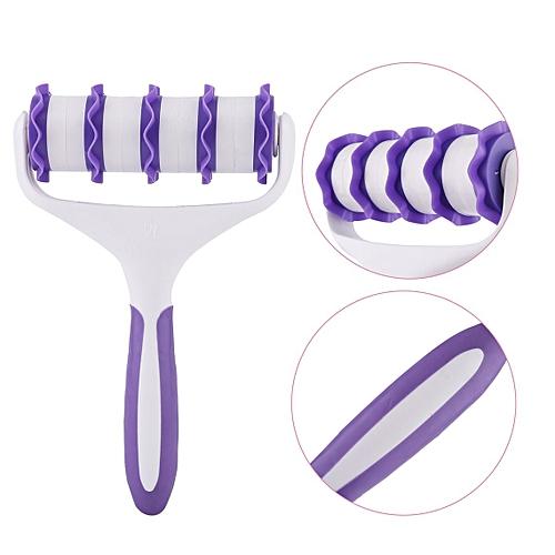 Plastic Professional Cookie Cutter Sugar Craft Plastic Cake Tools Home Cake Roller