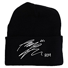 a7ccdc15567 Bts Knitted Beanie Hat Casual Adjustable Warm Cap For Fans