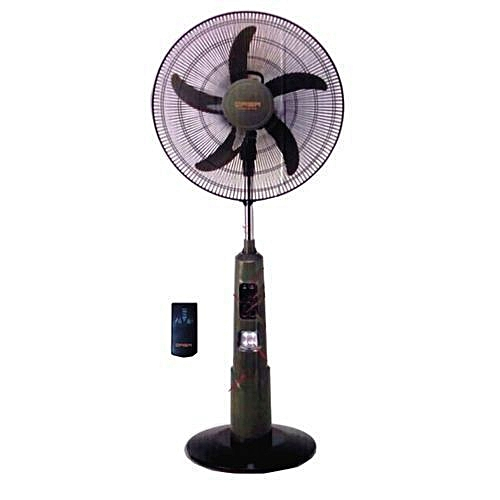 """Rechargeable Standing Fan 16"""" Inches With Remote"""