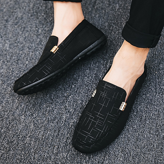 9311f6abb7d88a Longo Casual Fashion Men's Loafers Slip Ons Shoes-Black | Jumia NG