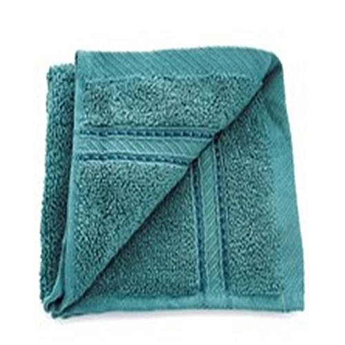 Twist Cotton Washcloth For Face & Body - Green