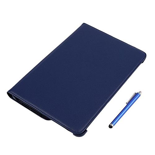 HP-10.1'' Rotating PU Leather Case For Samsung Galaxy Tab 2 P5100/P5110/P5113 Dark Blue