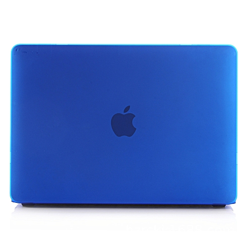 Air Macbook Retina Pro Apple Notebook Case Multi-model Frosted Case Shell Blue