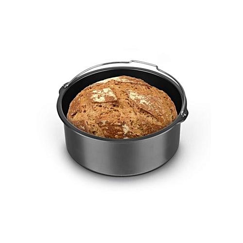 1.6L Cake Barrel 7'' Air Fryer Accessories For 3.2-6.8QT Baking Cooking Basket Accessories