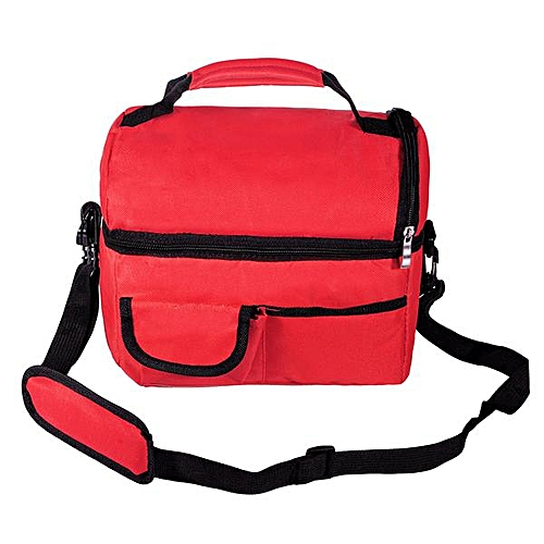 Insulated Waterproof Thermal Shoulder Picnic Cooler Lunch Bag Storage Box Tote