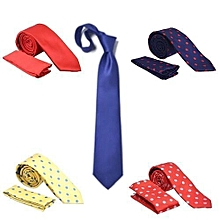 ded0d73445bd 5 In 1 Casual Mixed Men's Neck Party Wedding And Office Tie
