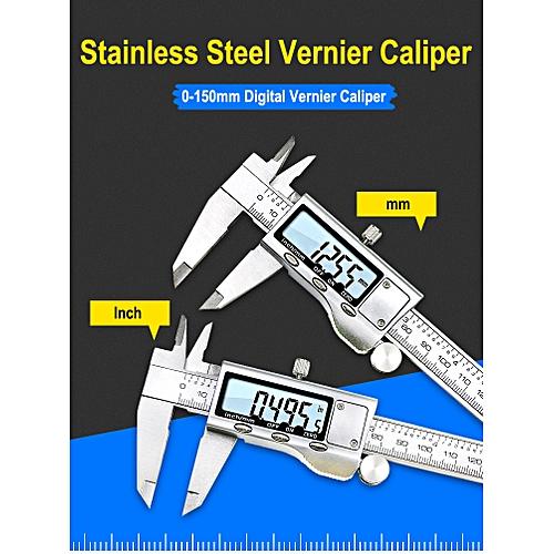 Digital Vernier Caliper 150mm LCD Micrometer Measuring Gauge