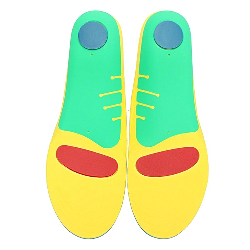 (photo)Pair Orthotic Shoes Insoles Insert High Arch Support Pad For Women Men # L