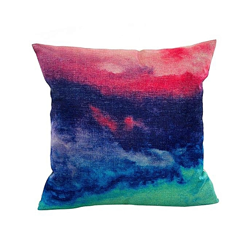 Fashion Printing Dyeing Sofa Bed Home Decor Pillow Case Cushion Cover B