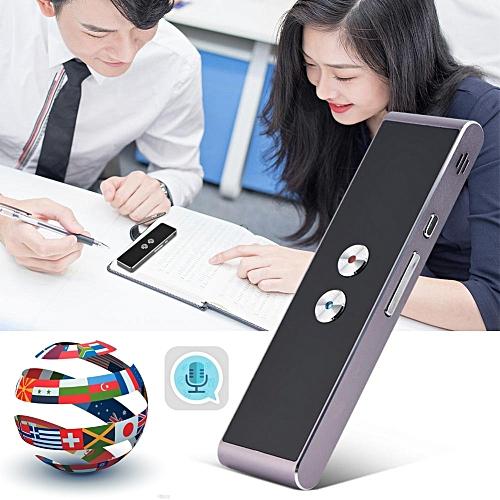 T8 Portable Voice Translator 41 Languages Two-Way Real Time Language Interpreter Travel Translation Machine DJLAB