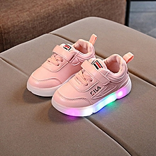 524839a11982ee Light Children's Shoes LED Boys Shoes Casual Shoes Korean Girls Sports  Shoes