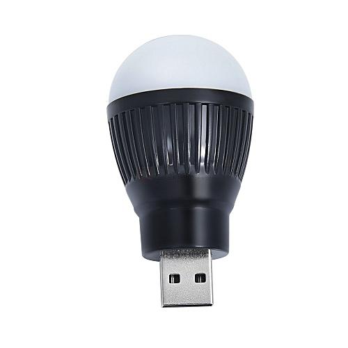 Mini USB LED Light Bulb White