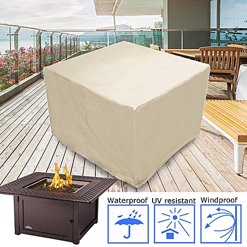"""F Ire Pit Table Patio Furniture Cover Waterproof Outdoor Protection 48"""" X 48"""""""