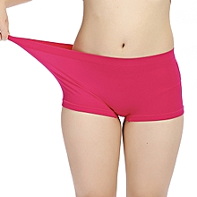 2b91f99f26383 Women Comfy Soft Seamless Sport Boxers Panties Breathable Anti Emptied  Underwear