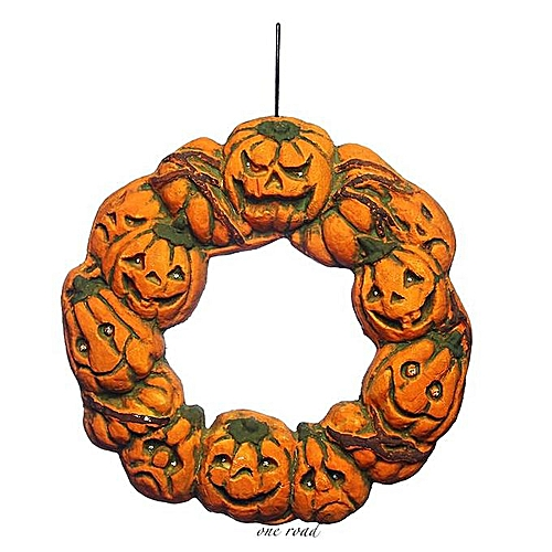 Halloween Door Pendant Household Decoration Led Light Pumpkin Light