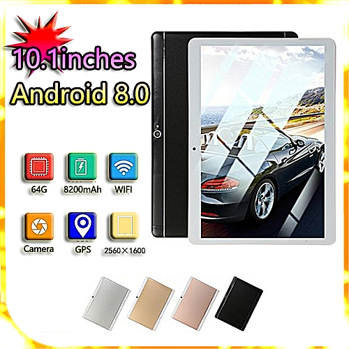 HOT SALE 10 1'' 4G+64GB Android 7 0 Tablet PC Octa 8 Core HD WIFI Bluetooth  2 SIM 4G Gold FASHION