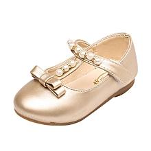 fbfd548c7c77 Dadaliak Store Toddler Kids Girls Baby Beading Fashion Princess Bowknot  Sandals Single Shoes