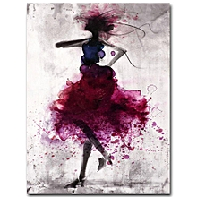 8bf4dd3ab98c Fashion Girl Minimalist Abstract Art Canvas Poster Painting Modern Decor  FA005     Unframed 50