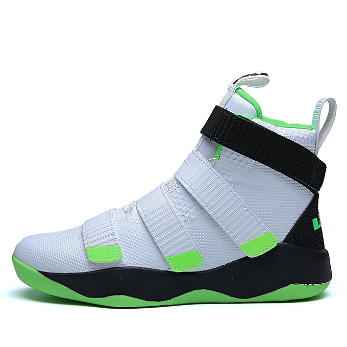 95a7aaea17565d Fashion Men s High Top Boots Basketball Shoes Velcro Wear Men Sneakers