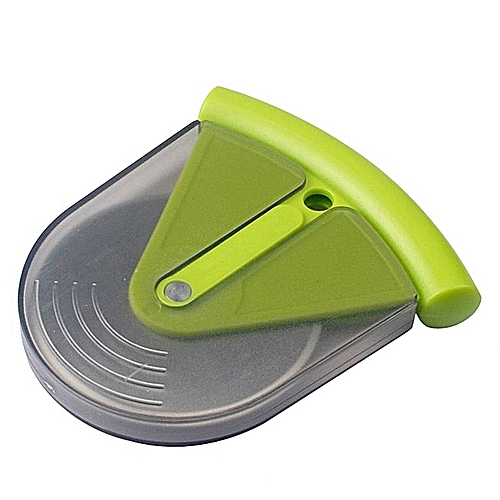 1PC Stainless Steel Pizza Wheels Cutter With PP Cover (Green)