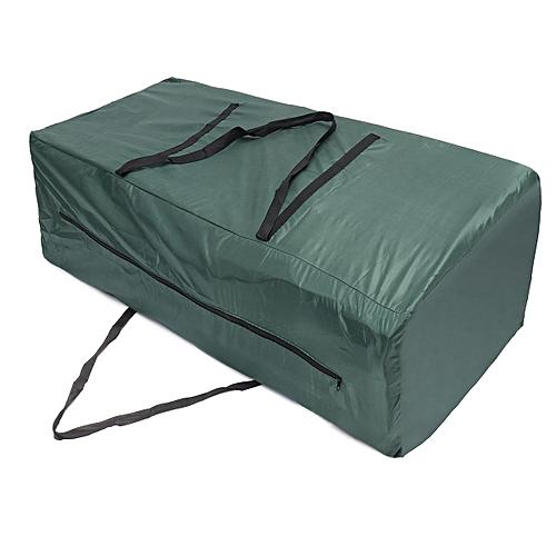 Heavy Duty Waterproof Garden Furniture Cushion Storage Bag Carry Cover Pouch Zip # 122*39*55cm
