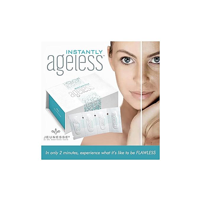10 Sachets USA Jeunesse Instantly Ageless Products Anti Aging Anti Wrinkle  Cream Argireline Face Lift Serum Eye Bags Remove