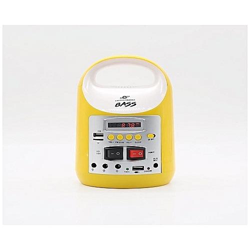 8000mAH Solar Power Kit With Multimedia Audio System - Bass