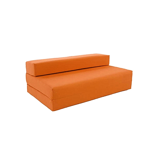3 Seater Sofa Bed Orange Delivery To Lagos Only
