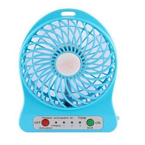 Mini Fan Rechargeable Desktop Fan