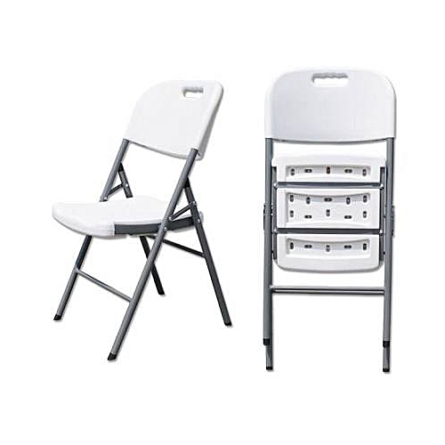 Plastic Folding Chair 2 Set
