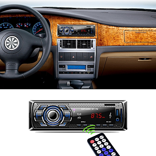 Fashion Bluetooth Car Audio Stereo FM DVD CD MP3 Player Receiver USB SD AUX Input PK-522