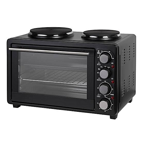 Ambiano 34 Litres Rotisseries Oven With Duo Burner