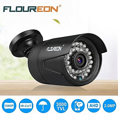【Clearance】Waterproof Outdoor Cctv Dvr Security Camera Night Vision - Black