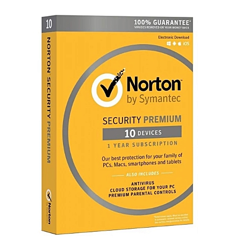 NORTON DELUXE LICENSE - WITH ANTIVIRUS - 10 USERS***