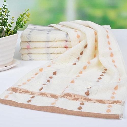 Super Absorbent Soft Washcloth The Bath Pure Cotton Siege Back Word Bath Towel