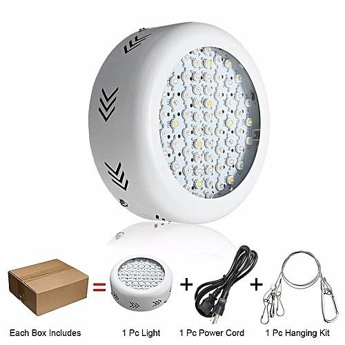 300W UFO LED Grow Light Full Spectrum Panel Hydroponic Indoor Flower Plant Lamp UK Plug